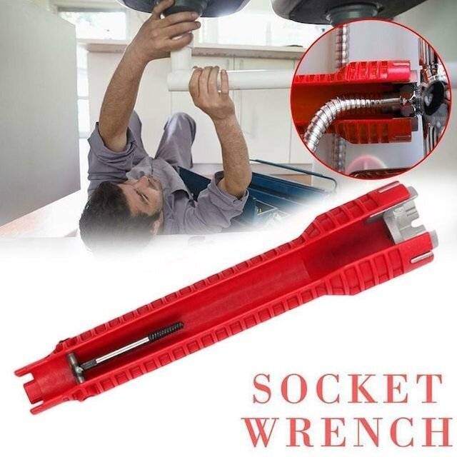 8-in-1 Sink Wrench