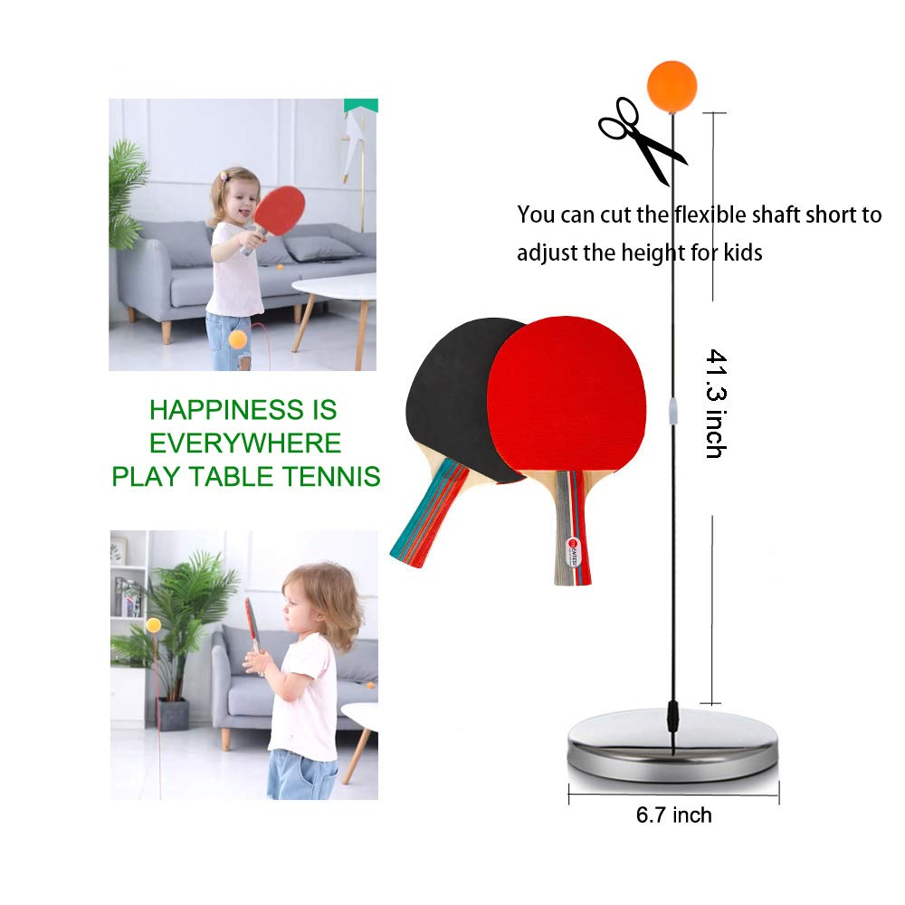 🏓Table tennis training device