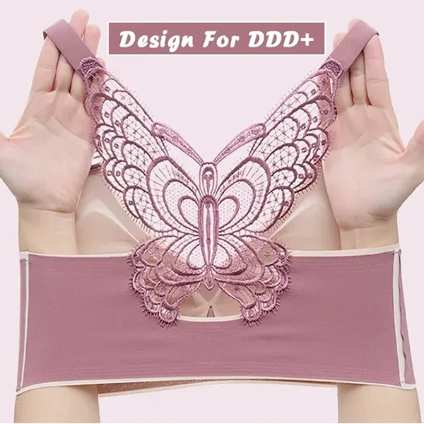 🔥Buy 1 Get 2 Free🔥2021 BUTTERFLY EMBROIDERY WIREFREE BRA
