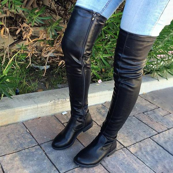 Floralmoda  Trendy Over The Knee Long Boots