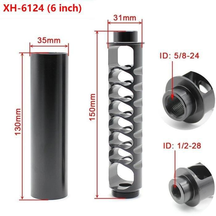 XH-6124 Fuel Filter Aluminum Solvent Trap FOR NAPA 4003 WIX 24003 6 inch/10 inch/12 inch (1/2-28  5/8-24)