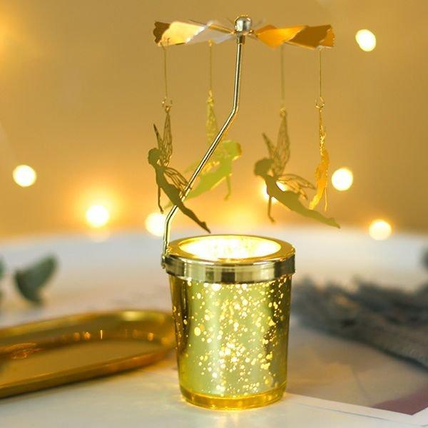 🎅 CHRISTMAS ROTARY SCENTED CANDLE HOLDER 🎄