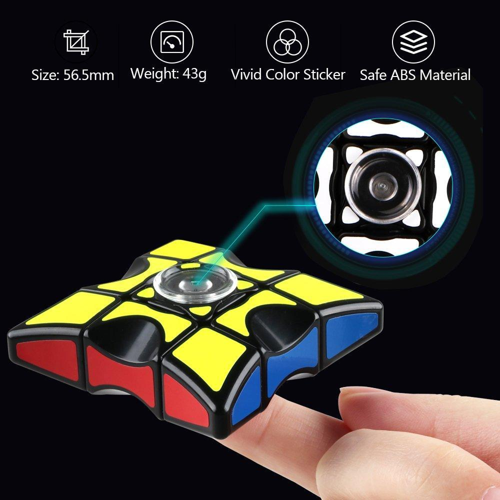 ⭐MID-YEAR LIMITIED SALE - 48% OFF--Fingertip Gyro Cube -- $4.9 Each Only Today!