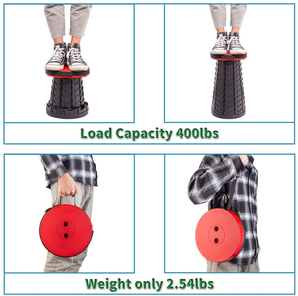 (🔥HOT SALE NOW-50% OFF)Noseplum™️ Retractable Folding Stool(FREE SHIPPING WORLDWIDE)