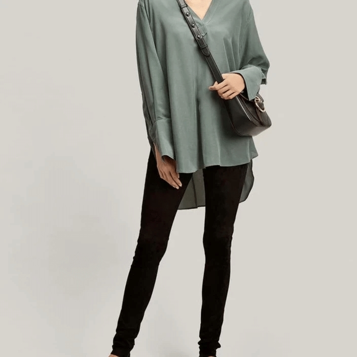 THICKENED SLIM CASHMERE WARM PANTS