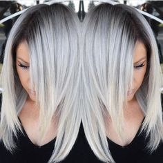 Lace Frontal Wigs For Women Gray Wigs Unprocessed Virgin Hair Young Woman Grey Hair