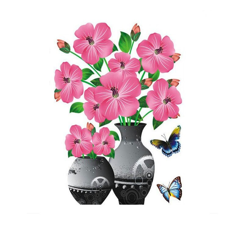 💥Summer Hot Sale-50% OFF💥DIY Plant Vase 3D Stereo Stickers Self-Adhesive(Buy 6 Get Free Shipping)
