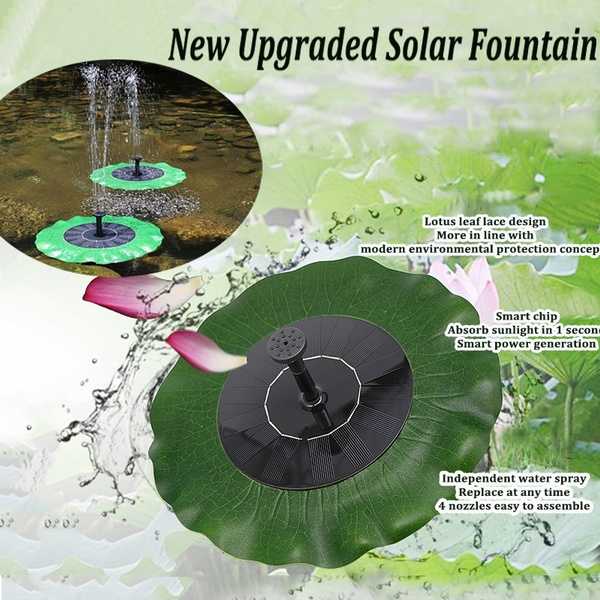 (Early Christmas Promotions)-[⭐PRE SALE⭐] Solar Powered Fountain Pump【U.S. shipping】