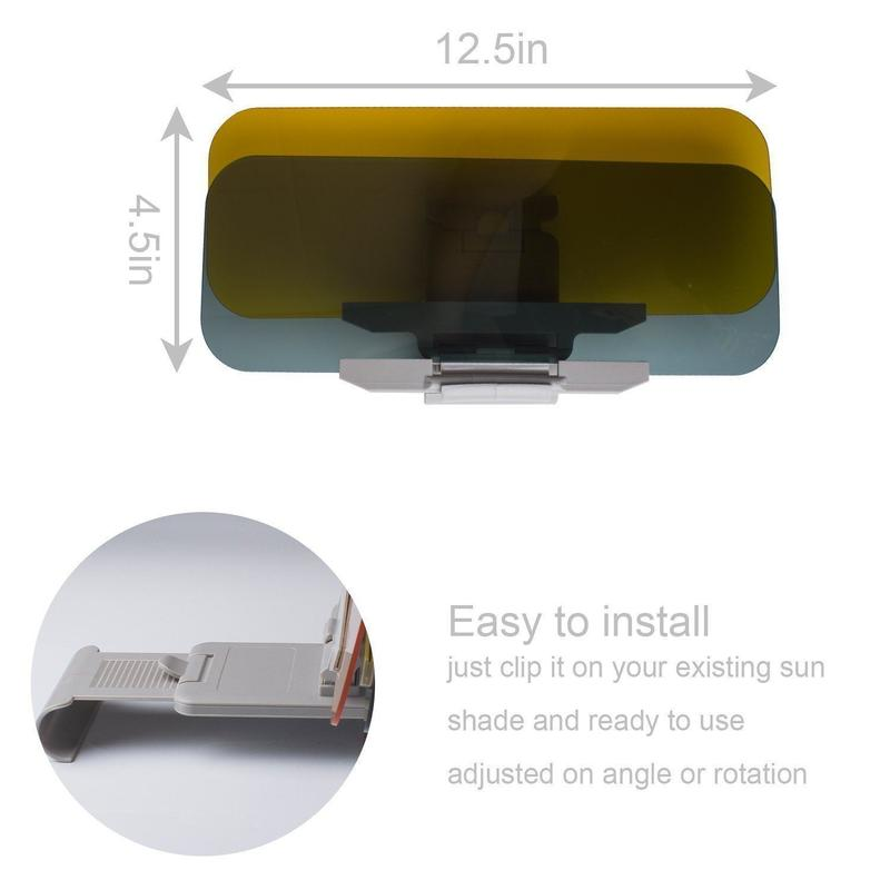 Day and Night Anti-Glare Car Windshield Visor (Buy 2 Get Extra 10% OFF)