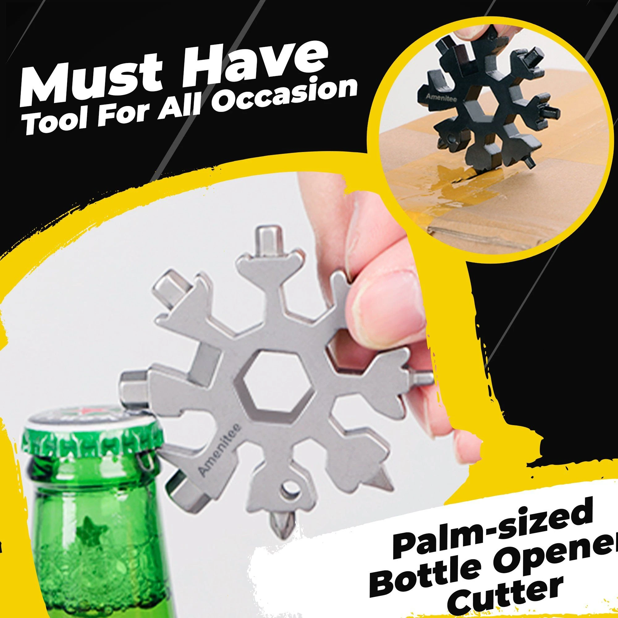 (Summer Flash Sale- 50% OFF) 18-in-1 Snowflake Multi-tool - Buy 2 get Extra 10% OFF