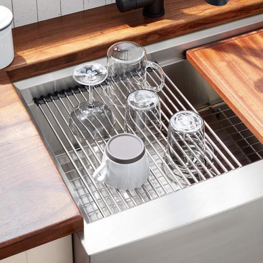 Summer Hot Sale 50% OFF - Roll-Up Sink Rack-BUY 3 FREE SHIPPING