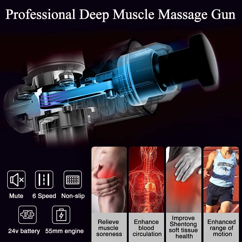 ONLY$69.99!!!-4 In One,Relieving Pain,3 Speed Setting Body Deep Muscle Massager【New Year Promotion-50% OFF)】