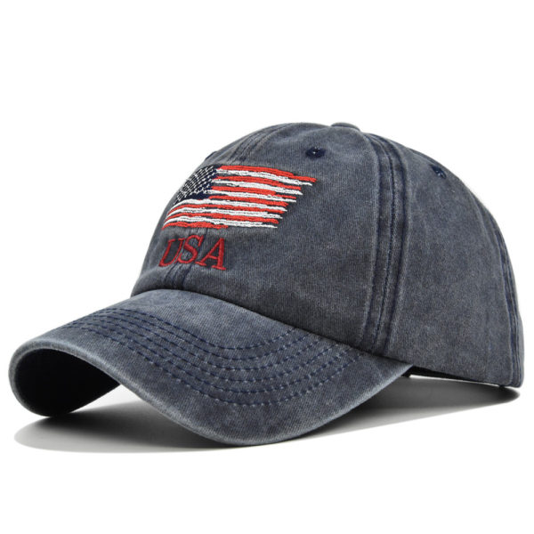 European and American washed and old USA embroidered basebal