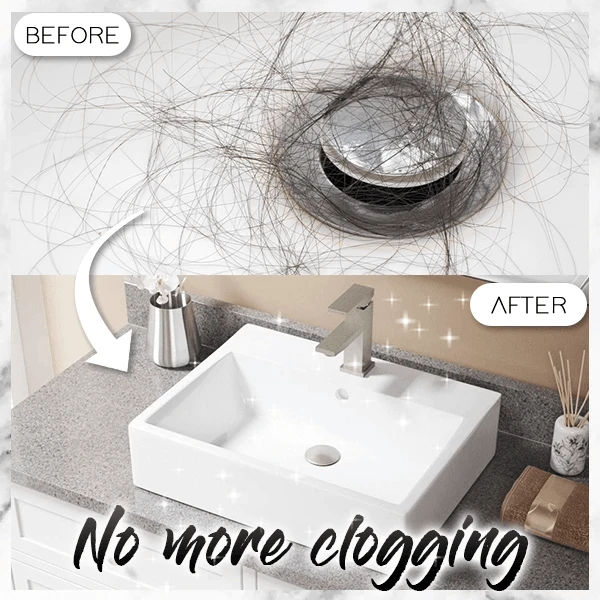💥Early Summer Hot Sale 50% OFF💥Basin Pop-up Drain Filter & BUY 2 GET 2 FREE