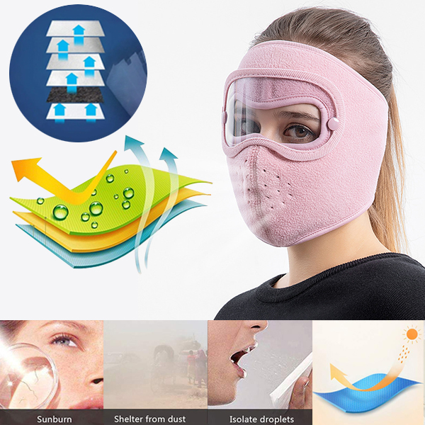 Facial Protection Anti-Fog, Dust-Proof Full Face Protection Masks💥Buy 3 Save $10 More💥+Free Gloves(50 pairs)