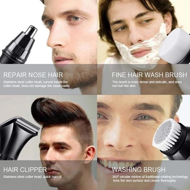 (🎄New Year Sale🎄-50% OFF) Premium 4D Electric Shaver- Buy 2 Free Shipping