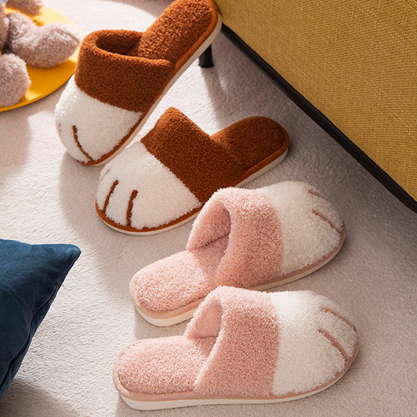 🎅(Christmas Pre Sale - Save 50% OFF) Cat Paw Slippers -Cute and cozy-Buy3Get Extra20%OFF