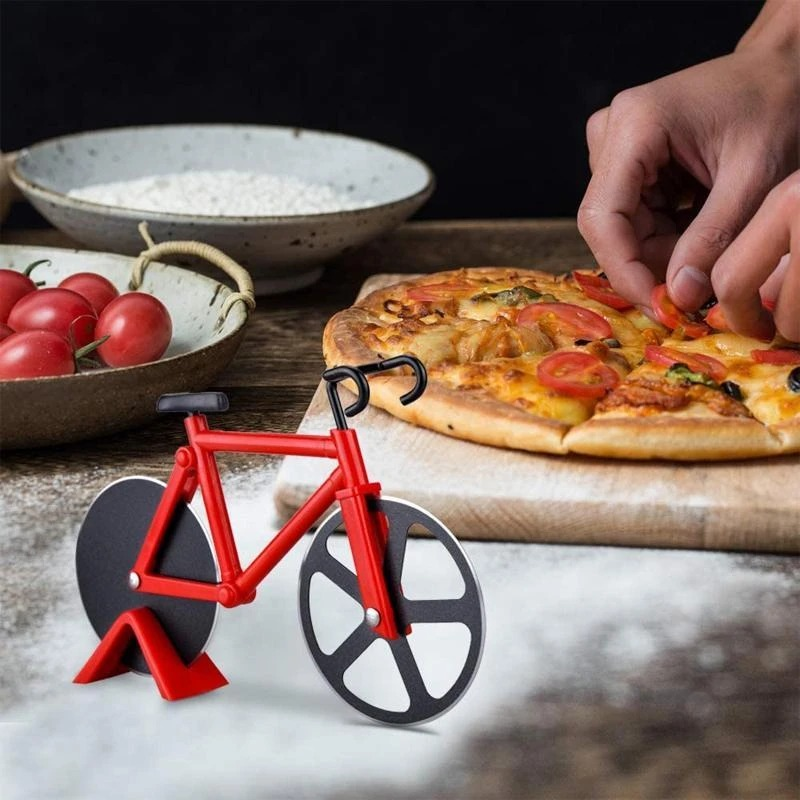 ⛄2021 Hot Sale 50% OFF⛄BICYCLE PIZZA CUTTER - Buy 4 Get Extra 20% OFF