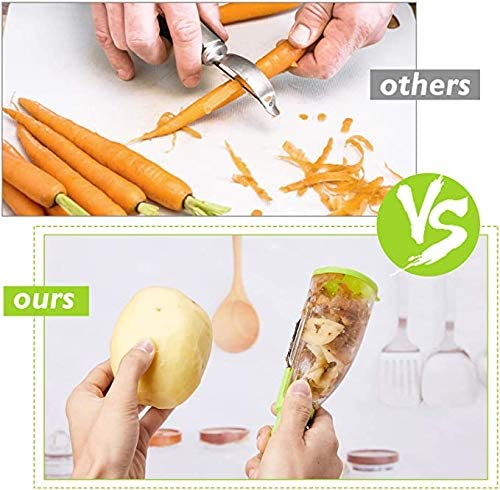 【Last Day 65%OFF】Smart Fruits And Vegetables Peeler , Buy2Get1Free