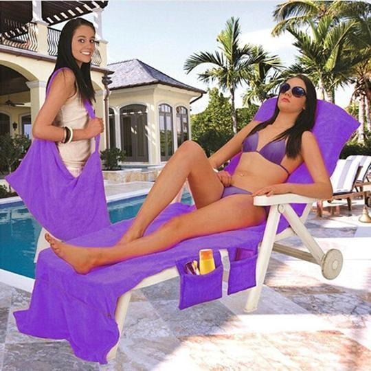 (SUMMER LIMITED TIME PROMOTION  - SAVE 50% OFF & BUY 2 FREE SHIPPING) Lounger Beach Towel