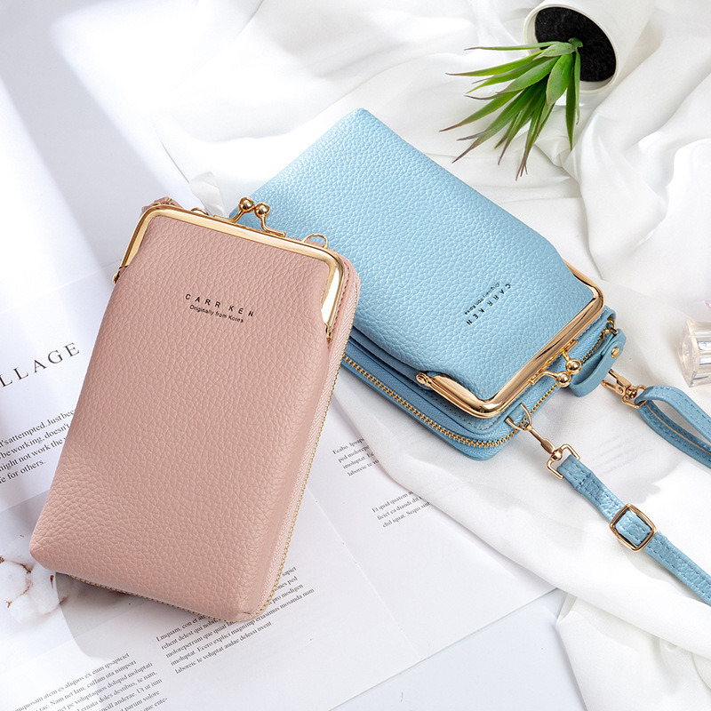 Early Christmas Hot Sale 50% OFF - Women Phone Bag Solid Crossbody Bag(buy 2 for free shipping)