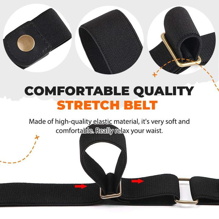 Buckle-free Invisible Elastic Waist Belts-BUY 1 GET 1 FREE