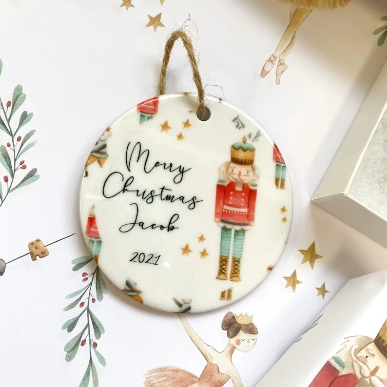 Personalized Christmas tree ornaments🎄-Your exclusive gift🎁