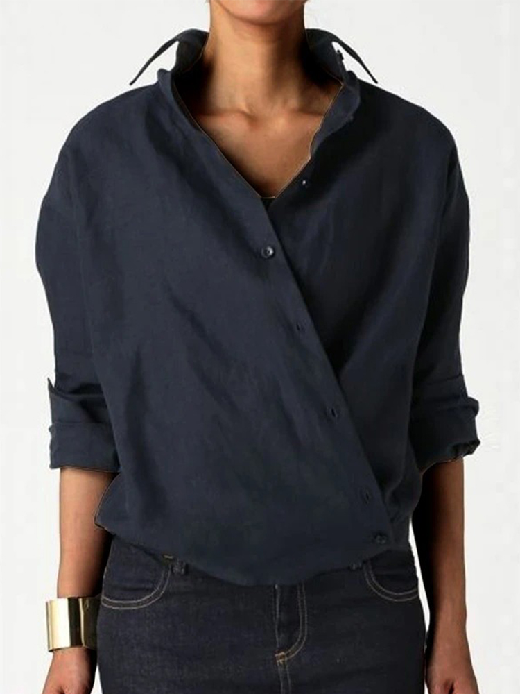 Simple Solid Color Top