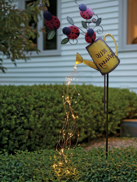 Watering Can, Fairy Lights Solar LED, Magical Garden