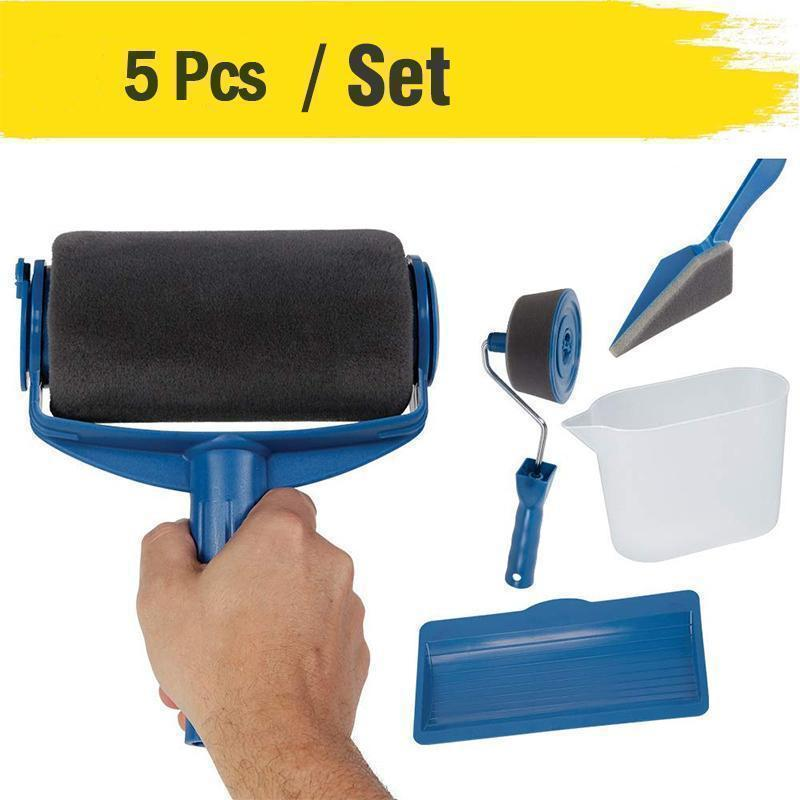 (Summer Hot Sale-50% OFF) Paint Roller Brush Painting Handle Tool - BUY 2 FREE SHIPPING
