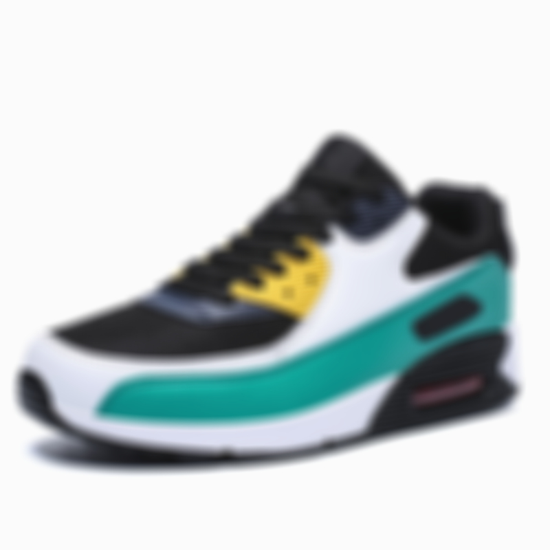 Men's Sports Training Sneakers Air Cushion Mesh Tennis Sports Shoes Outdoor Running Shoes Non-slip Wear-resistant Casual Shoes