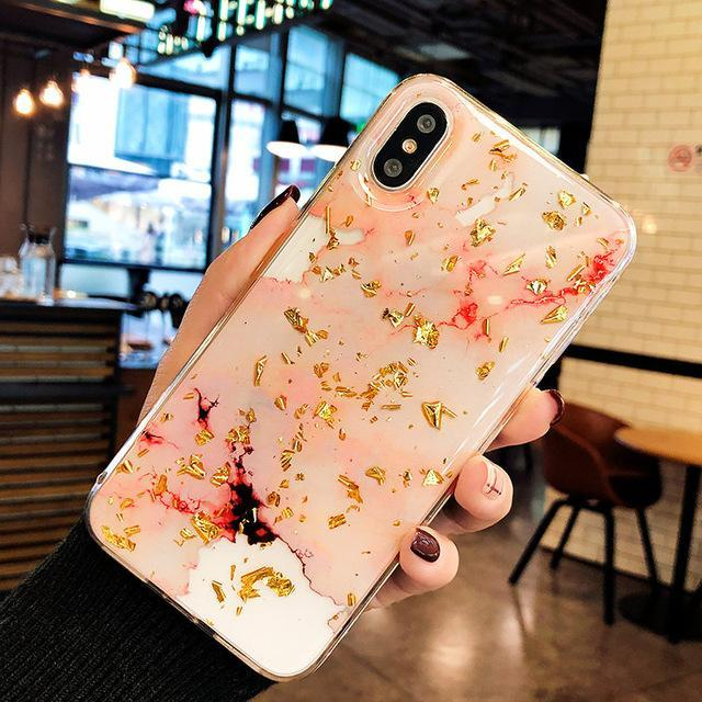 Marble Cutout Cases