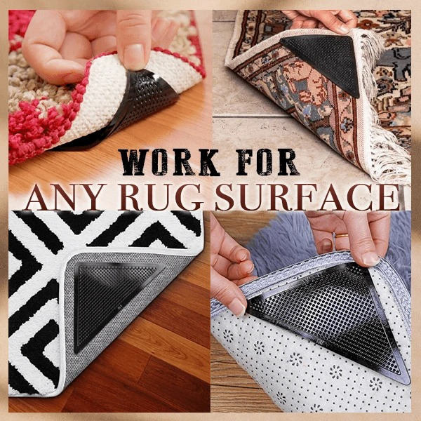 😍😍💥Spring Hot Sale 50% OFF💥Non-slip Rug Grippers  (Set of 4)