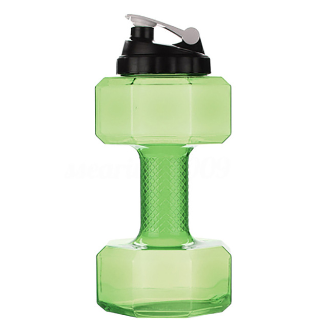 (🔥Clearance Sale - 50% OFF) Dumbbell Shaped Water Bottle