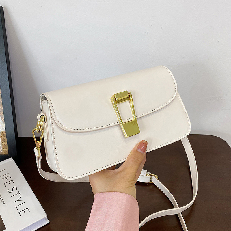 Small bag female of small masses restore ancient ways simple sense 2021 new tide is simple and versatile small square bag single shoulder cross-body bag takes silk scar