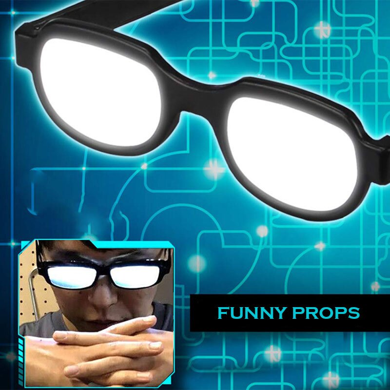 (Early Father's Day Hot Sale-48% OFF)Anime Cosplay Luminous Glasses