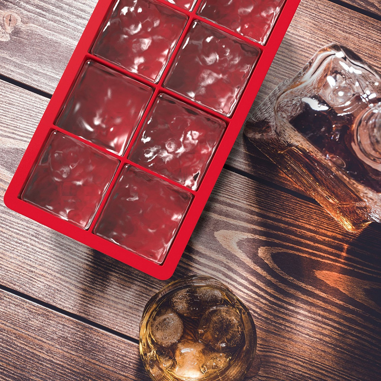 Ice Cubes 1-cup Tray With Lid