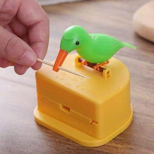 (CHRISTMAS PRE SALE - SAVE 50% OFF) BIRD Toothpick Dispenser-BUY 2 FREE SHIPPING