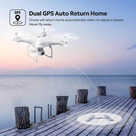 【FREE SHIPPING】SY88 LATEST 4K CAMERA ROTATION WATERPROOF PROFESSIONAL RC DRONE