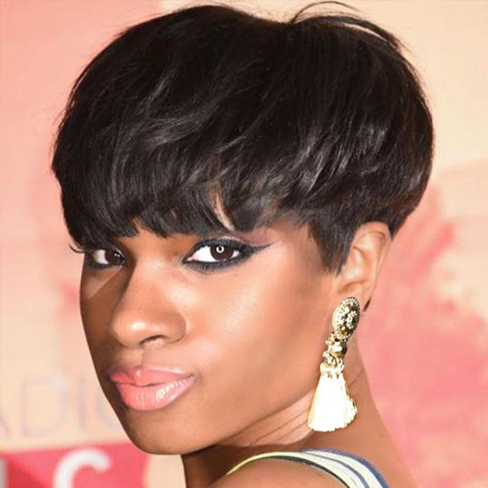 Luna Wigs S020 Short Style Pixie Cut Synthetic Hair Wigs