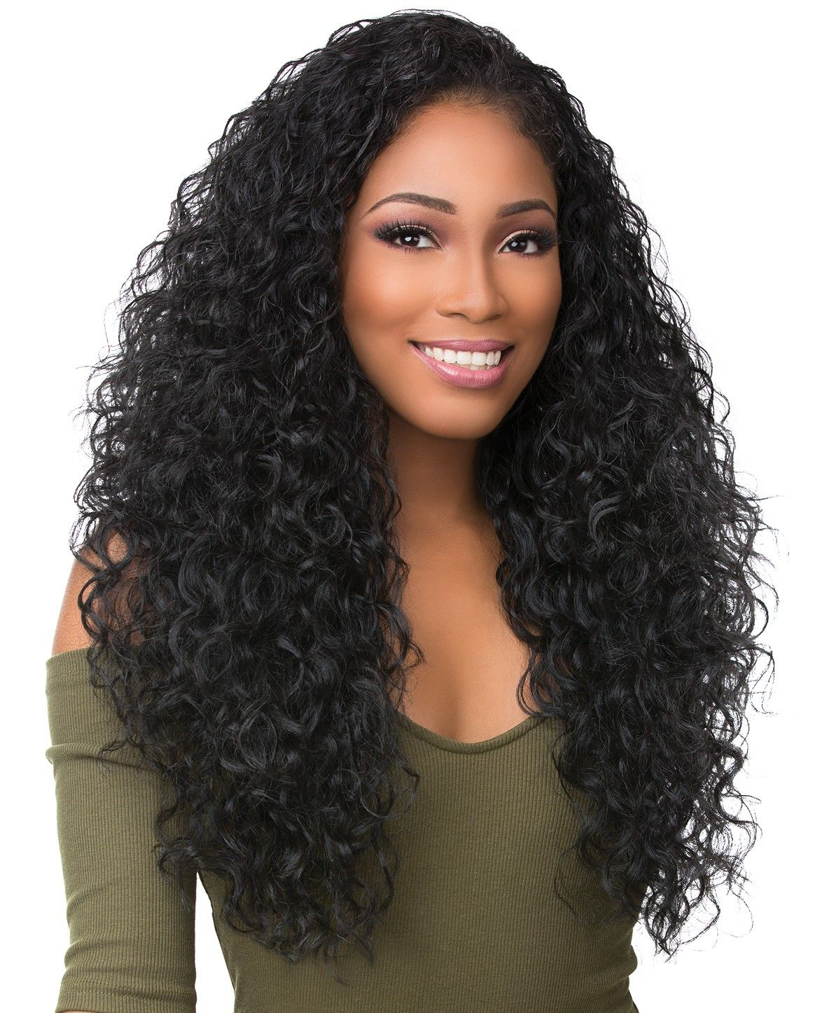 Lace Front Wigs Black Curly Hair Wavy Brazilian Hair Weave Pink Curly Hair Wig Side Curls