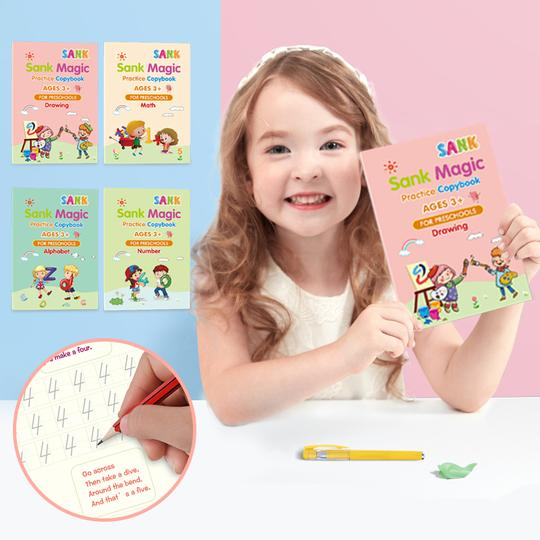 (🎄Early Christmas Sale🎄- Save 50% OFF)Sank® Magic Practice Copybook