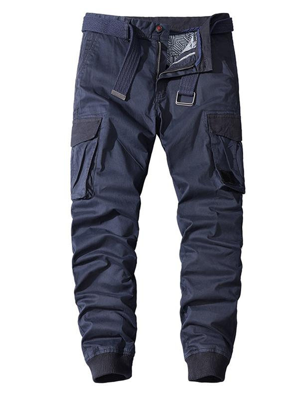 Men's Cotton Washed Workwear Track Pants