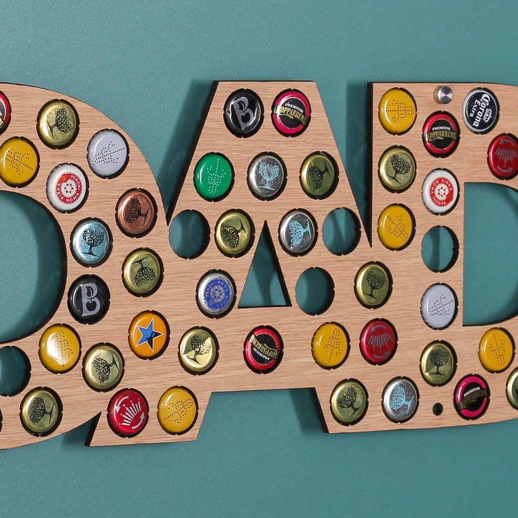 Beer Bottle Cap Holder -The perfect Father's Day gift