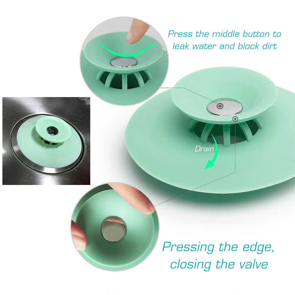 Silicone Floor Drain Cover - Buy 5 Save 20%