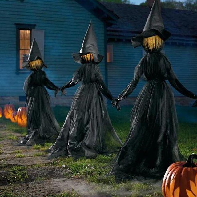 🎃Lighted Halloween Witch Decoration - Buy 2 Free Shipping