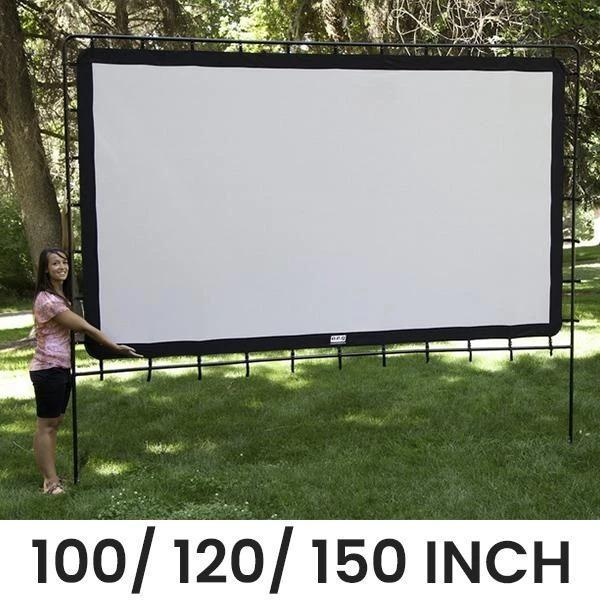 Portable Giant Outdoor/Indoor Movie Screen【BUY 2 FREE SHIPPING】