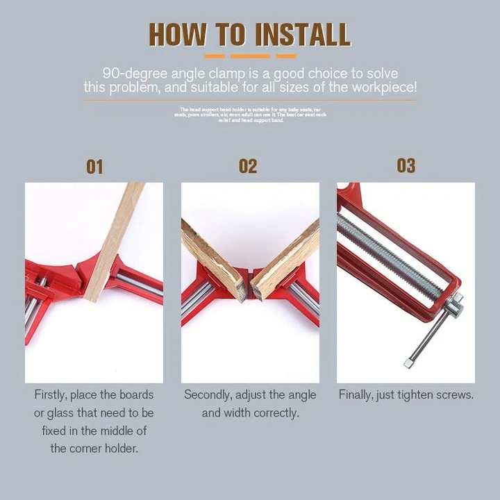 💥Early Summer Hot Sale 50% OFF💥90 Degree Right Angle Clip