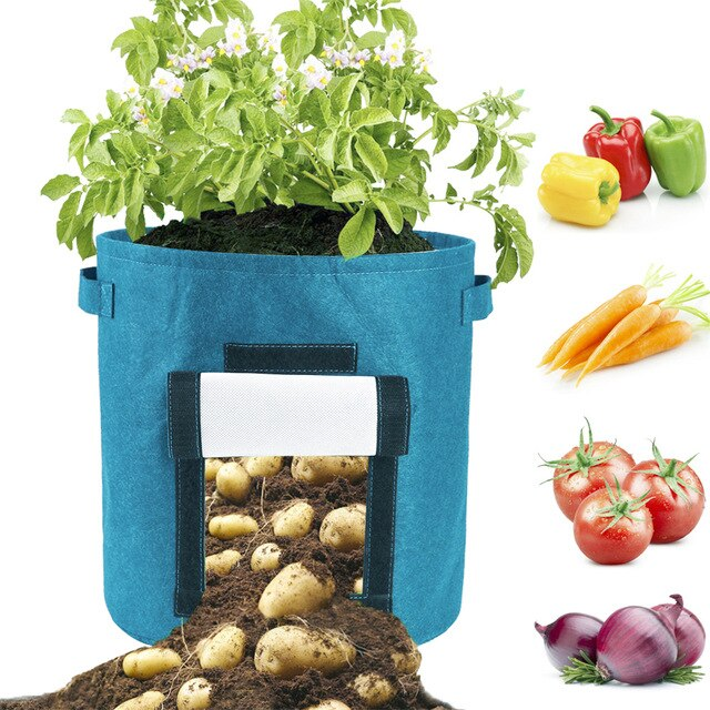 Flower pot root bag container