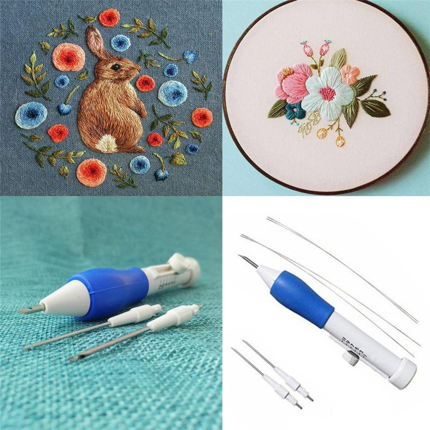 (🔥Summer Hot Sale - Save 50% OFF) Magic Embroidery Pen, Buy 2Get Extra20% OFF